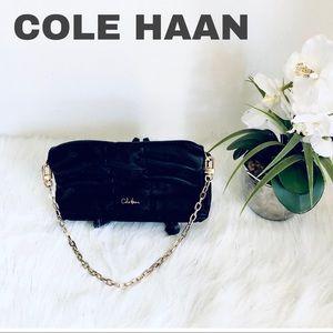 COLE HAAN HAND BAG.COLOR BLACK